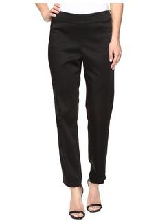NYDJ Suzy Side Zip Trousers in Black