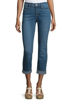 Not Your Daughter's Jeans NYDJ Sylvia Cropped Boyfriend Jeans