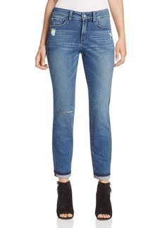 Not Your Daughter's Jeans NYDJ Sylvia Distressed Boyfriend Jeans in Mayfair