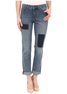 Not Your Daughter's Jeans NYDJ Sylvia Relaxed Boyfriend in Montebello Patched