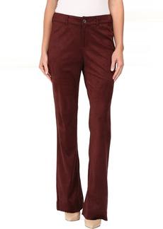 NYDJ Teresa Modern Trousers in Faux Suede