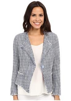 Not Your Daughter's Jeans NYDJ Tweed Fringe Jacket