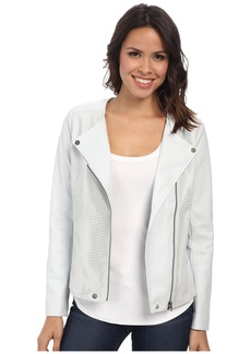 Not Your Daughter's Jeans NYDJ Vegan Leather Moto Jacket