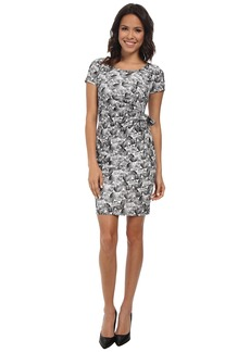 NYDJ Veronica Candy Drop Ric Rac Wrap Dress