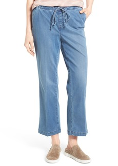 Not Your Daughter's Jeans NYDJ Wide Leg Stretch Denim Ankle Pants (Seine)