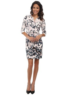 Not Your Daughter's Jeans NYDJ Windblown Petal Shirt Dress