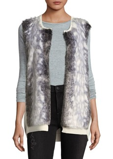NYDJ Winter Faux Fur Vest