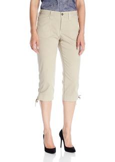 NYDJ Women's Abbie Crop Jeans in Lightweight Chino Twill