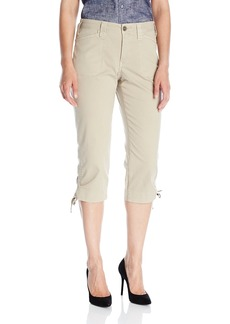 NYDJ Women's Abbie Crop Jeans in Lightweight Chino Twill  18