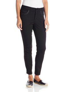 NYDJ Women's Adaleine Skinny Ankle Jeans with Front Pocket Stones