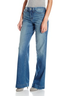 Not Your Daughter's Jeans NYDJ Women's Addison Wide Leg Jeans in Denim Wash  2