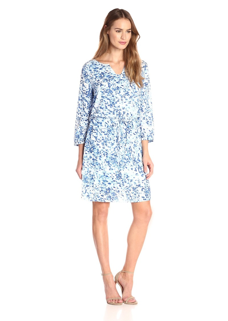 Not Your Daughter's Jeans NYDJ Women's Alexa Shirt Dress with Detachable Fit Solution  Medium