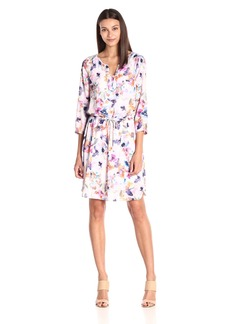 NYDJ Women's Alexa Shirt Dress with Detachable Fit Solution