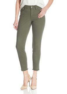 NYDJ Women's Alina Skinny Ankle Jeans with Frayed Hem