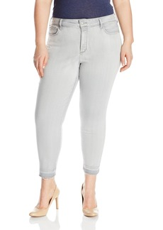 NYDJ Women's Alina Skinny Ankle Jeans with Released Hem
