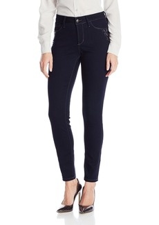 NYDJ Women's Alina Legging Fit Skinny Jeans In Super Stretch Denim with Rhinestones