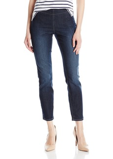 NYDJ Women's Alina Skinny Pull On Ankle Jeans