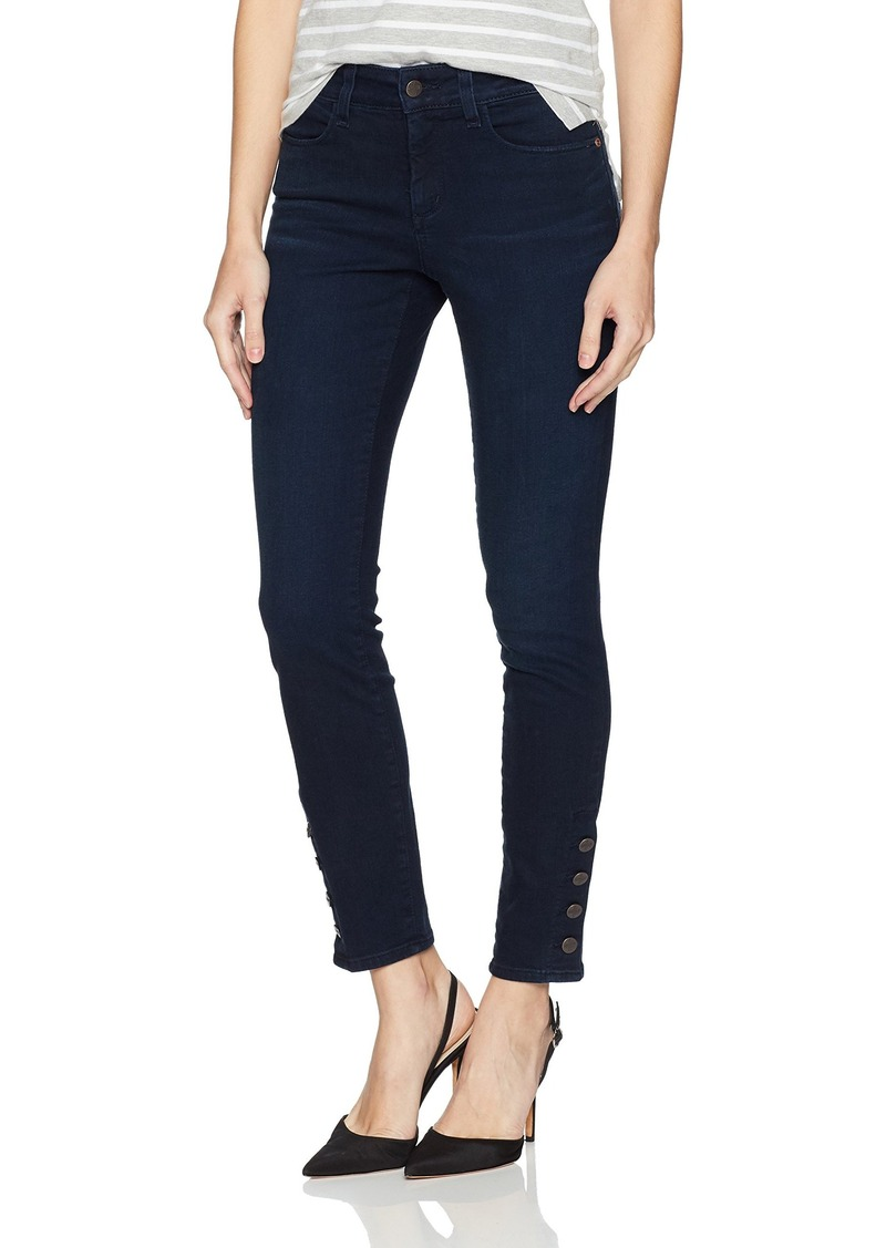 NYDJ Women's Ami Skinny Jeans Legging Sinclair with Exposed Sideseam Buttons