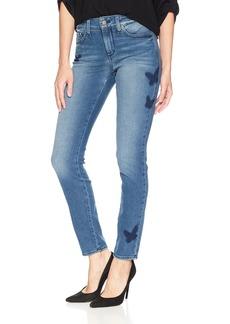 NYDJ Women's Ami Skinny Legging with Flutterfly
