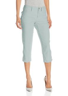NYDJ Women's Aria Crop Pants in Stretch Linen