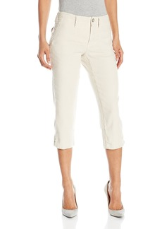 Not Your Daughter's Jeans NYDJ Women's Aria Crop Pants in Stretch Linen
