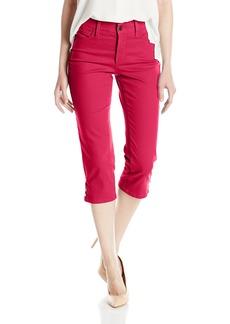 NYDJ Women's Ariel Crop Jeans with Rivets