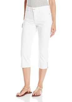 NYDJ Women's Ariel Crop Jeans with Rose Gold Zipper