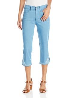 NYDJ Women's Ariel Crop Jeans With Embellished Pocket