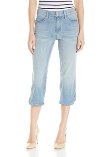 NYDJ Women's Ariel Crop Jeans with Curved Hem