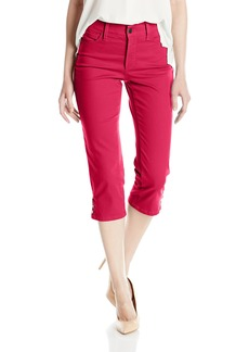 NYDJ Women's Ariel Crop Jeans with Rivets