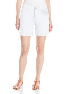 NYDJ Women's Avery Shorts In Colored Bull Denim Optic White 0