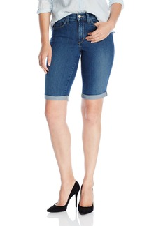 Not Your Daughter's Jeans NYDJ Women's Briella Jean Shorts in Denim Wash