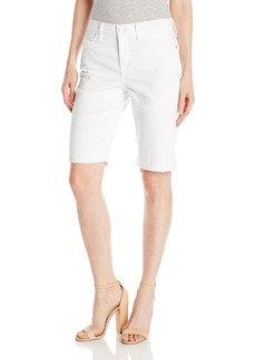 NYDJ Women's Briella Roll Cuff Jean Short in Colored Bull Denim