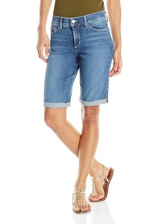 NYDJ Women's Briella Shorts In Stretch Indigo Denim  6