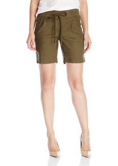 Not Your Daughter's Jeans NYDJ Women's Candice Shorts in Stretch Linen  0