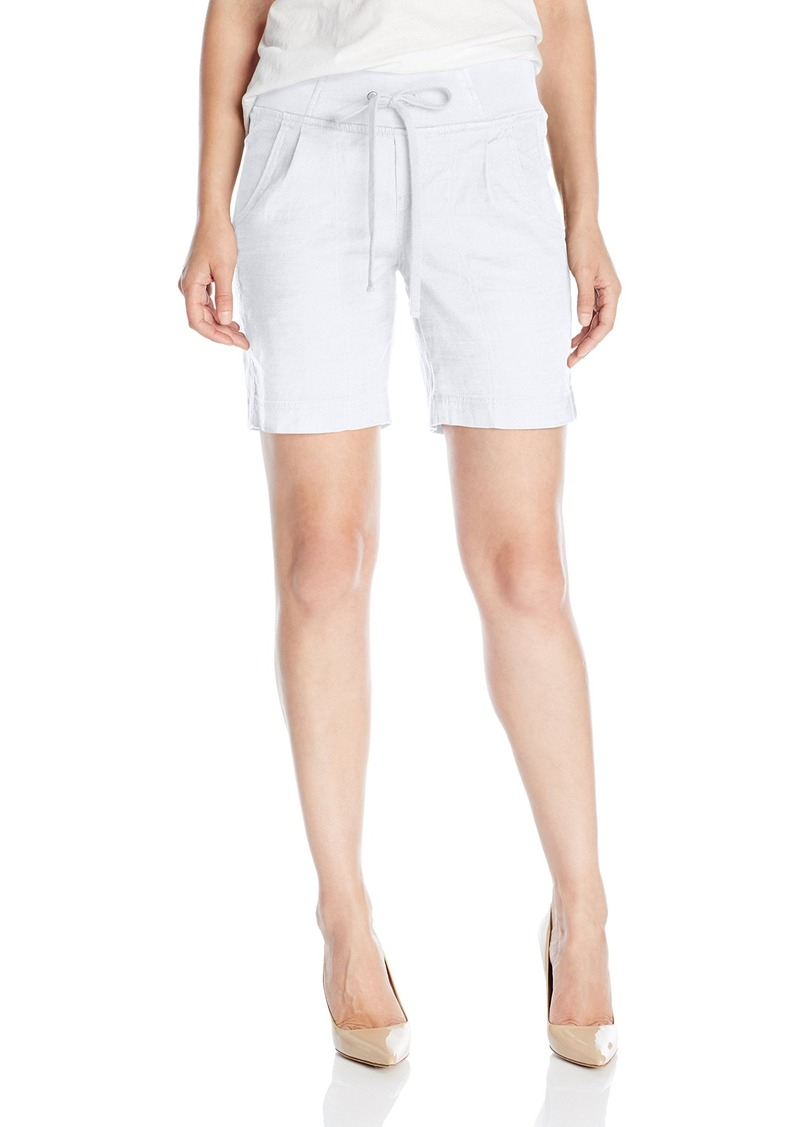 Not Your Daughter's Jeans NYDJ Women's Candice Shorts in Stretch Linen  8