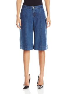 NYDJ Women's Carol Culottes in Chambray Denim