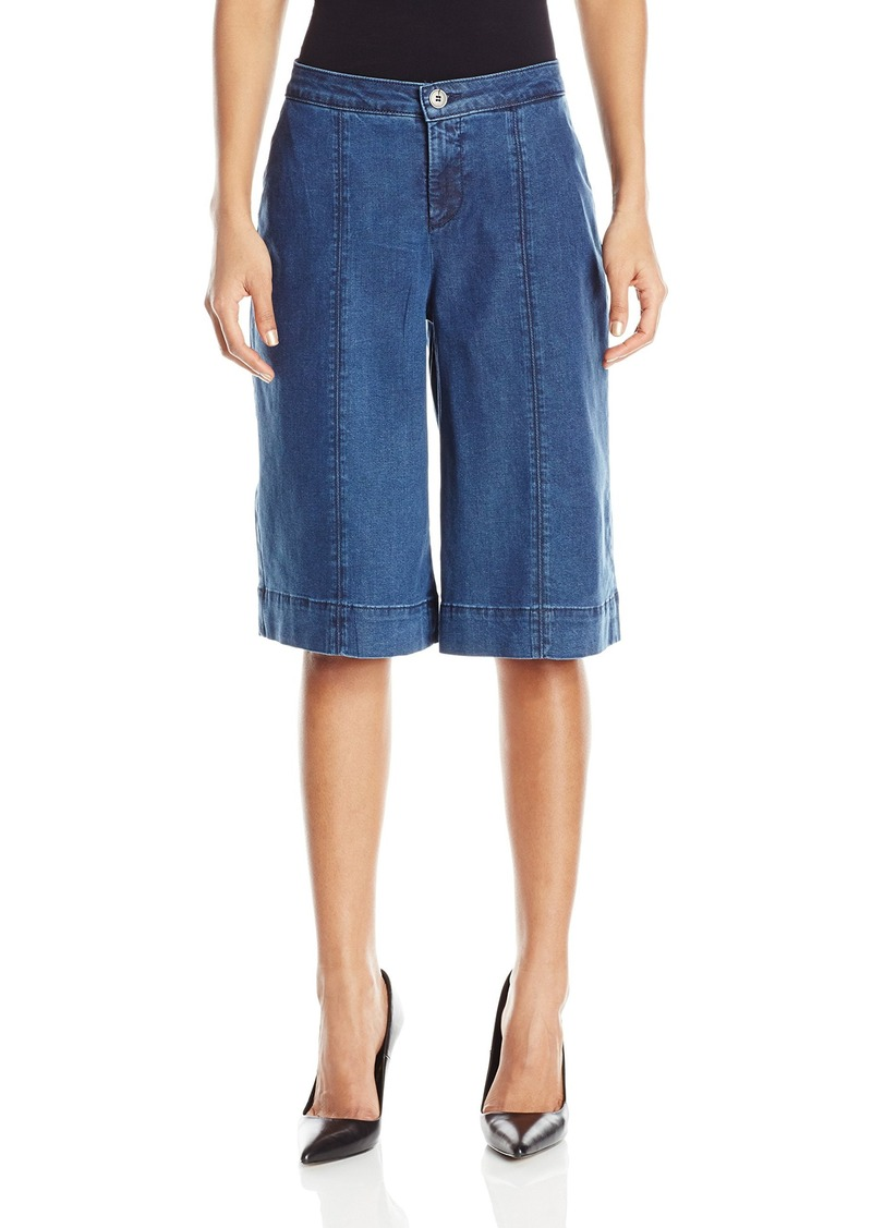 Not Your Daughter's Jeans NYDJ Women's Carol Culottes in Chambray Denim
