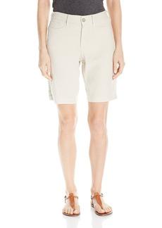 NYDJ Women's Catherine Shorts in Stretch Linen