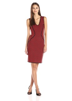 NYDJ Women's Cecelia Jacquard Sweater Dress