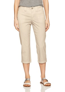 Not Your Daughter's Jeans NYDJ Women's Chino Twill Crop Pants