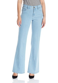NYDJ Women's Claire Trouser Jeans in Chambray Denim