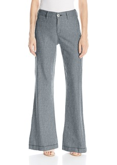 NYDJ Women's Claire Trousers In Textured Linen  2