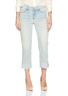 NYDJ Women's Dayla Capri Jeans With Frayed Hem In Cool Embrace Denim