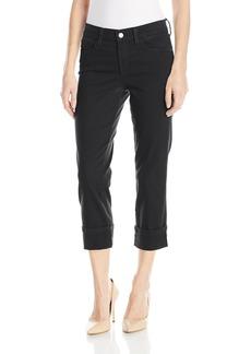 NYDJ Women's Dayla Wide Cuff Capri Jeans in Colored Bull Denim