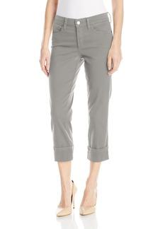 Not Your Daughter's Jeans NYDJ Women's Dayla Wide Cuff Capri Jeans in Colored Bull Denim