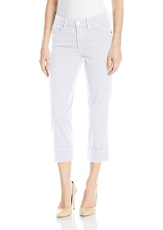 Not Your Daughter's Jeans NYDJ Women's Dayla Wide Cuff Capri Jeans In Colored Bull Denim