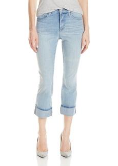 NYDJ Women's Dayla Wide Cuffed Capri Jeans