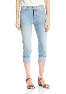 NYDJ Women's Dayla Wide Cuffed Capri Jeans In Premium Lightweight Denim  10