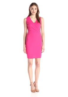 NYDJ Women's Demi Matte Jersey Fitted Sheath Dress